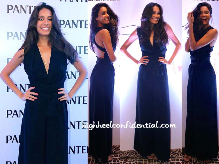 Lisa Haydon Wears Deme By Gabriella To The Pantene Event