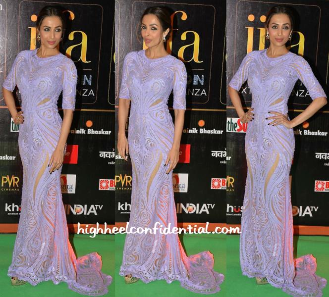 Malaika Arora Khan In Michael Cinco At IIFA Fashion Extravaganza 2015-1