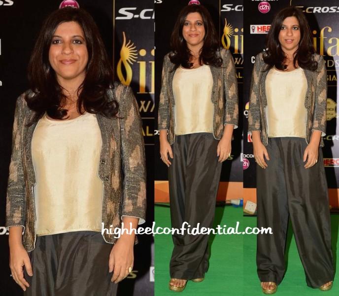 Zoya Akhtar Wears Namrta Joshipura To IIFA 2015