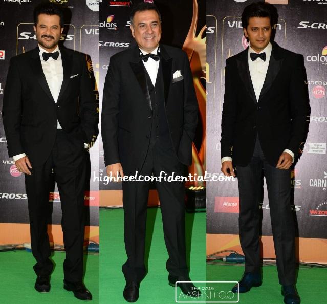 anil-boman-ritesh-iifa-awards-2015