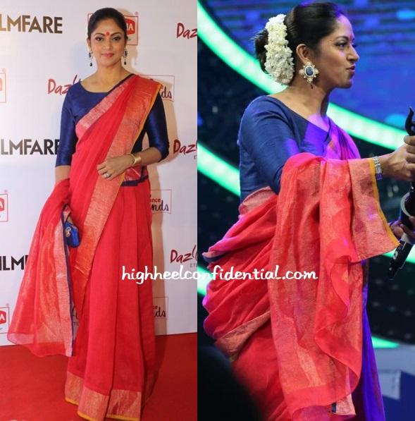 nadiya-filmfare-awards-south-2015