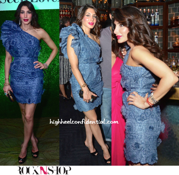 priya sachdev in stella mccartney at the rocknshop party