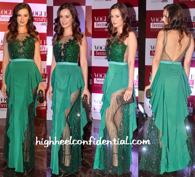 Evelyn Sharma In Rocky S At Mr. India Pageant 2015 And In Gaviin Miguel At Vogue Beauty Awards 2015-2