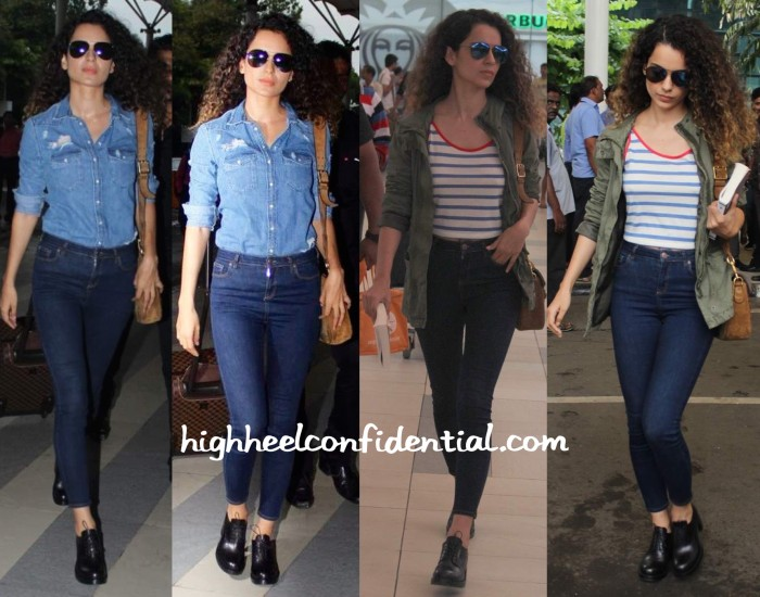 Kangana Ranaut Photographed At The Airport-1