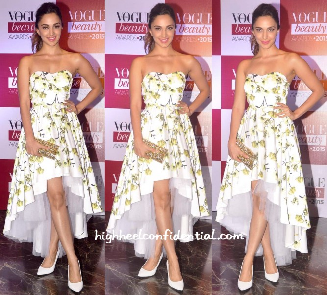 Kiara Advani In ADL And Edie Parker At Vogue Beauty Awards 2015