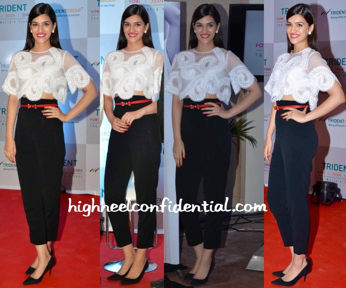 Kriti Sanon In Andrew GN And Zara At Trident Linen Collection Launch-1