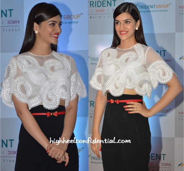 Kriti Sanon In Andrew GN And Zara At Trident Linen Collection Launch-2