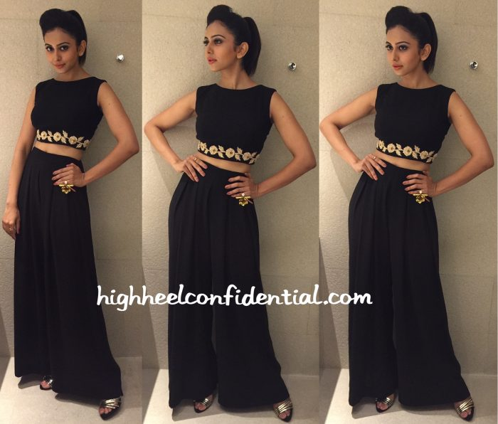 Rakul Preet Singh In Vineti Bolaki At A Restaurant Opening-1
