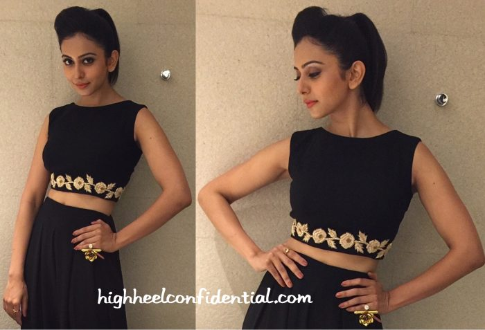 Rakul Preet Singh In Vineti Bolaki At A Restaurant Opening-2