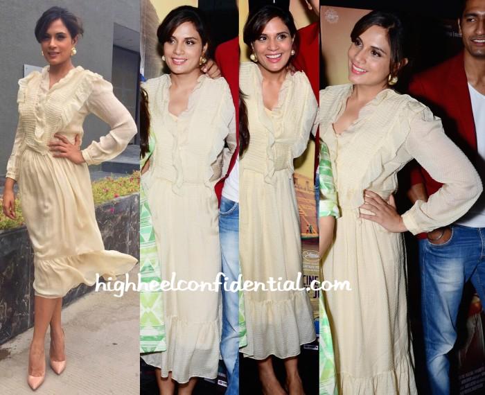 Richa Chadda In Shift By Nimish Shah At Masaan Promotions-1