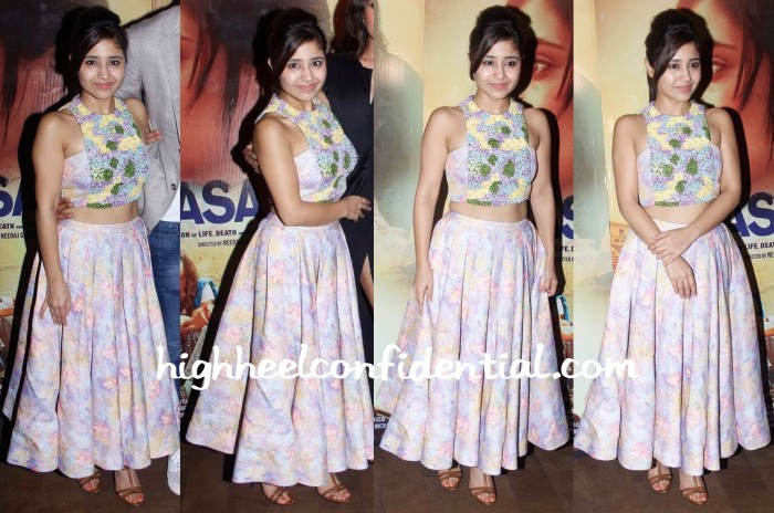 Shweta Tripathi In Mirage By Parul Bhargava And At Masaan Screenings-2