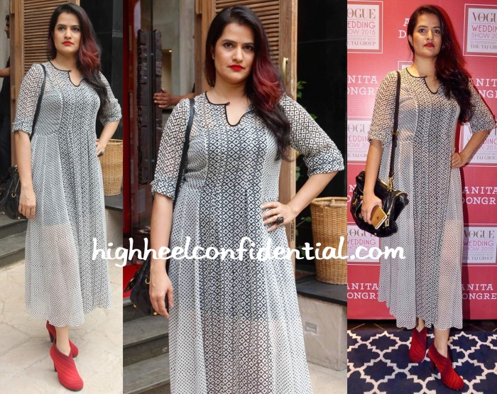 Sona Mohapatra At Vogue Bridal Studio 2015