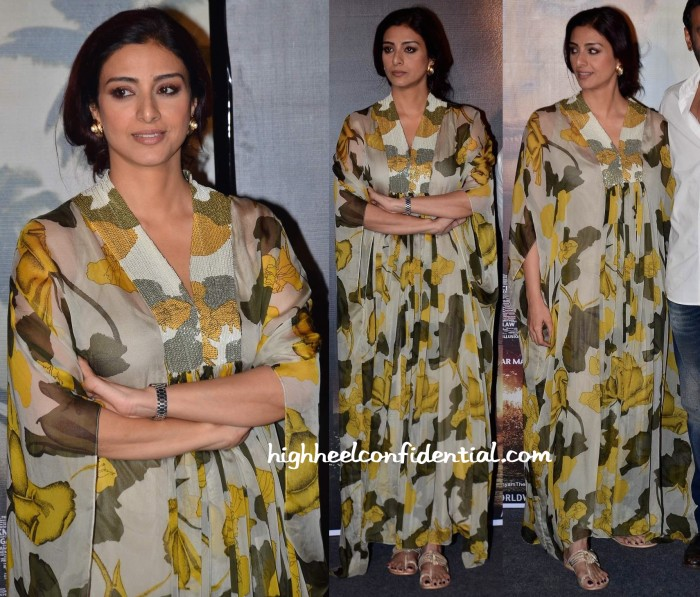 Tabu In Dev R Nil At 'Drishyam' Press Meet-2