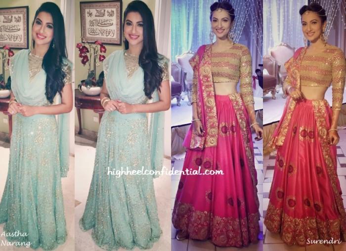 gauahar-khan-astha-narang-surendri-nigaar-wedding