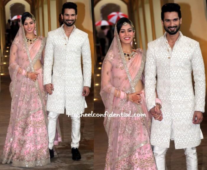 mira-rajput-shahid-wedding-anamika-kunal