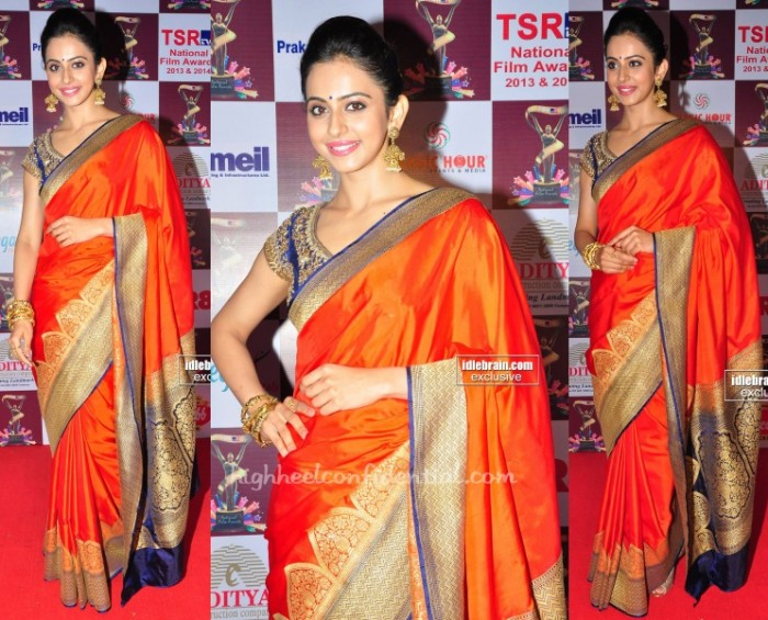 rakul-preet-singhania-tsr-tv9-awards-2015