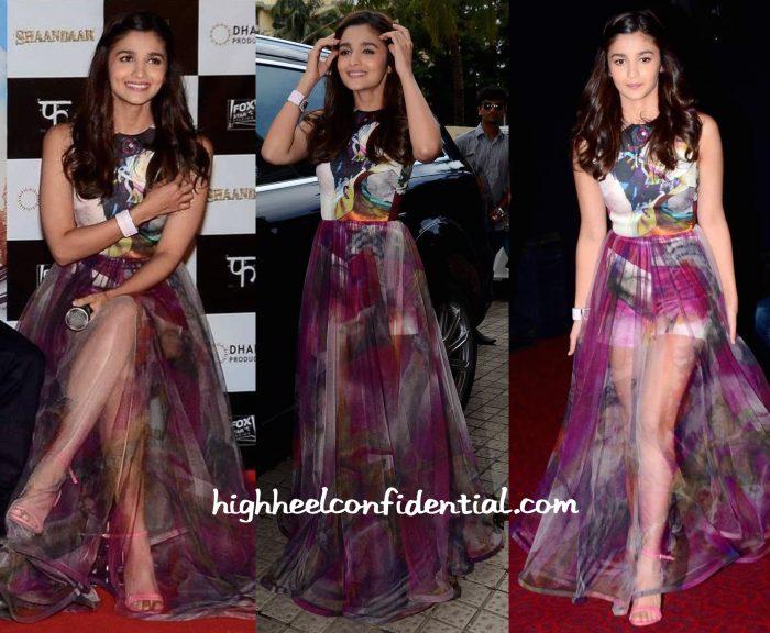 Alia Bhatt Wears Gauri And Nainika To Shaandaar Trailer Launch-1