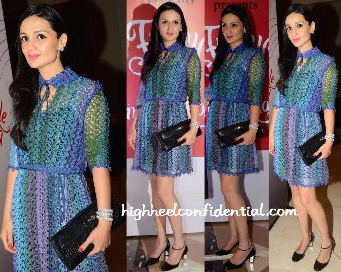Anu Dewan In Missoni, Hermès And Bulgari At Twinkle Khanna's Book Launch