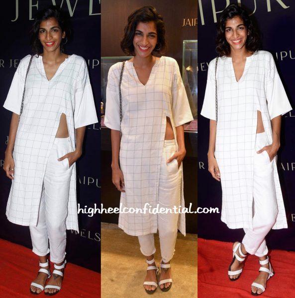 Anushka Manchanda In Three Clothing At Jaipur Jewels Event