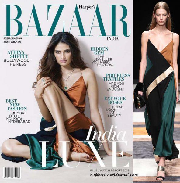 Athiya Shetty Covers Harper's Bazaar's Latest Issue Wearing Salvatore Ferragamo