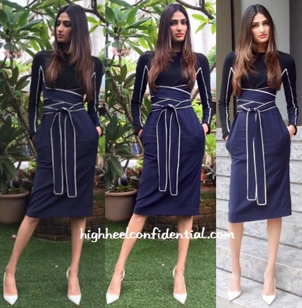 Athiya Shetty Wears Issa To The Unveiling Of Grazia September 2015 Issue-2