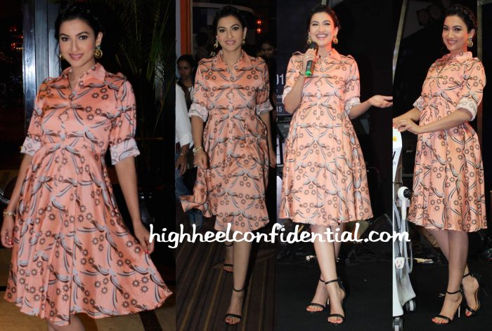 Gauahar Khan In Surendri And Sapphire At CDSI Event-1