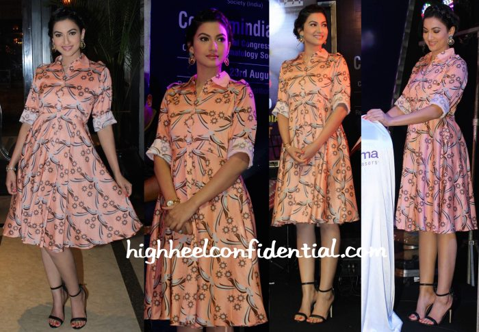Gauahar Khan In Surendri And Sapphire At CDSI Event-2