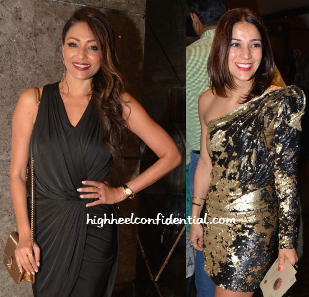 Kalyani Saha Chawla And Koel Purie Wore Gaurav Gupta To The Designer's Show At ICW 2015-2