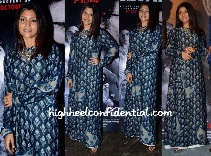 Konkona Sen Sharma In Divya Anand At Talvar Launch-1