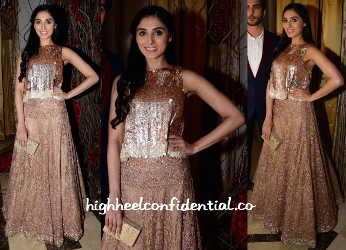 Pernia Qureshi At Manish Malhotra's Show At ICW 2015 And At The Premiere Of Jaanisaar-1
