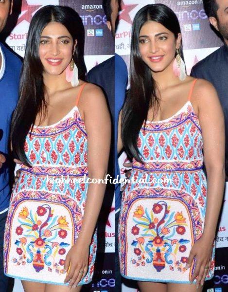 Shruti Haasan Wears Pia Pauro To Dance Plus Sets-2