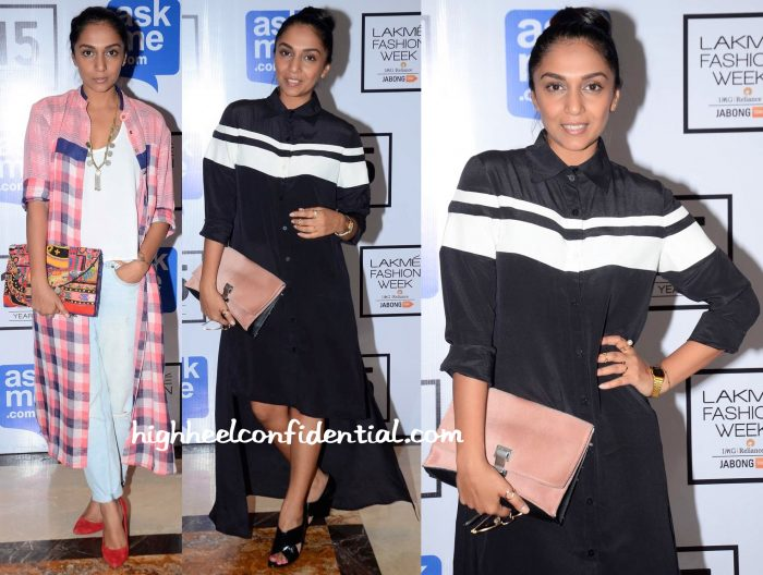 Shveta Salve In Doodlage And Huemn At Lakme Fashion Week Winter:Festive 2015