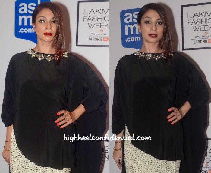 Tanishaa Mukerji In Payal Singhal At Lakme Fashion Week Winter:Festive 2015-1