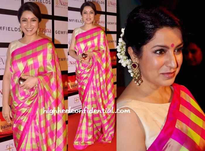 Tisca Chopra In Raw Mango At Retail Jeweller India Awards 2015-1
