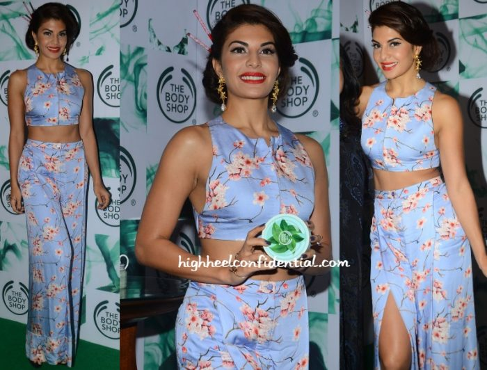 jacqueline-fernandez-sailex-body-shop-tea-collection