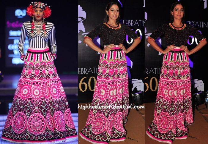 regina-cassandra-manish-arora-couture-chiranjeevi-60th-birthday-celebrations