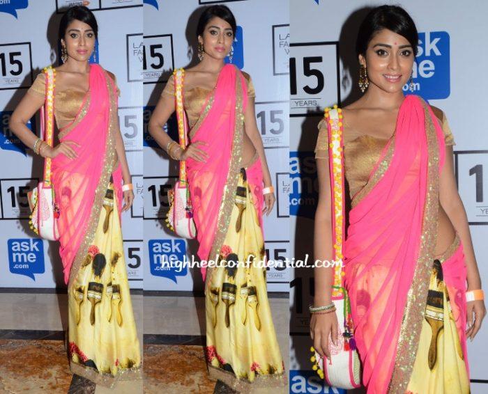 shriya-saran-masaba-lakme-fashion-week-2015