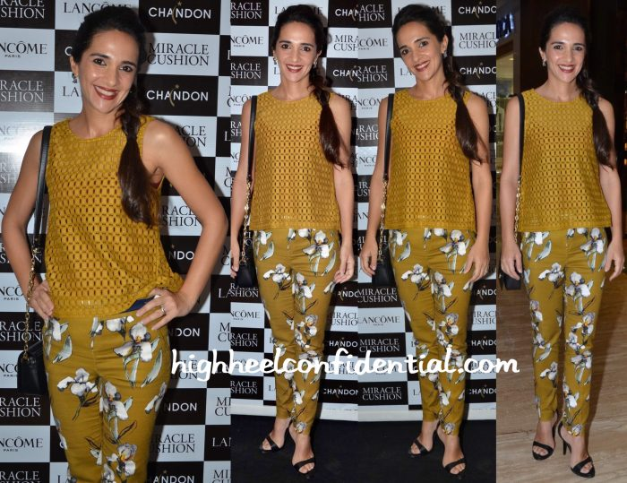 tara sharma saluja in zara at lancome event