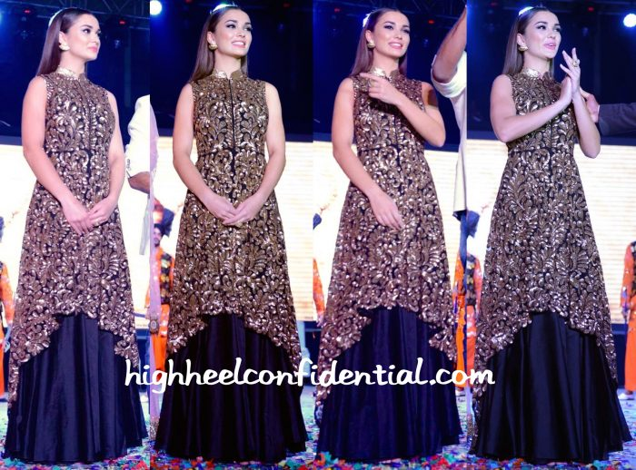 Amy Jackson At Singh Is Bliing Promotions-1