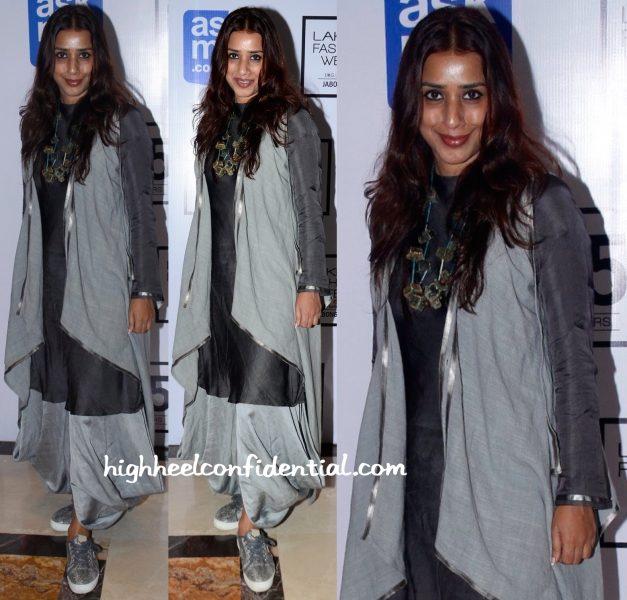 Ashvini Yardi In Antar Agni At Lakme Fashion Week Winter:Festive 2015