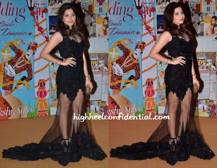 Kanika Kapoor At Sakshi Salve Book The Big Indian Wedding Launch-1