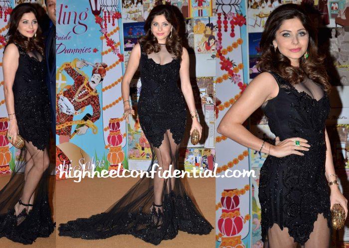 Kanika Kapoor At Sakshi Salve Book The Big Indian Wedding Launch-2