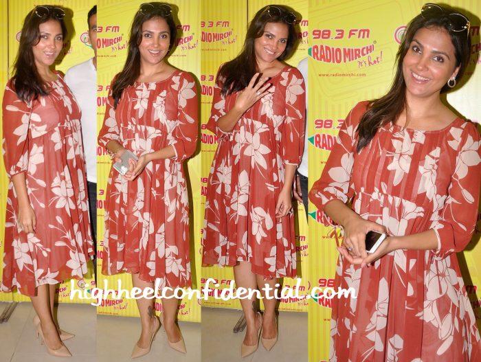 Lara Dutta At Singh Is Bliing Promotions