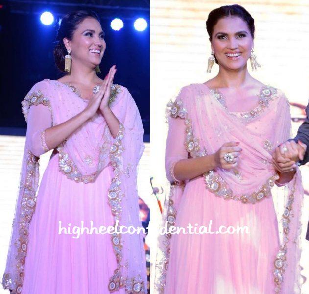 Lara Dutta At Singh Is Bliing Promotions Delhi-2