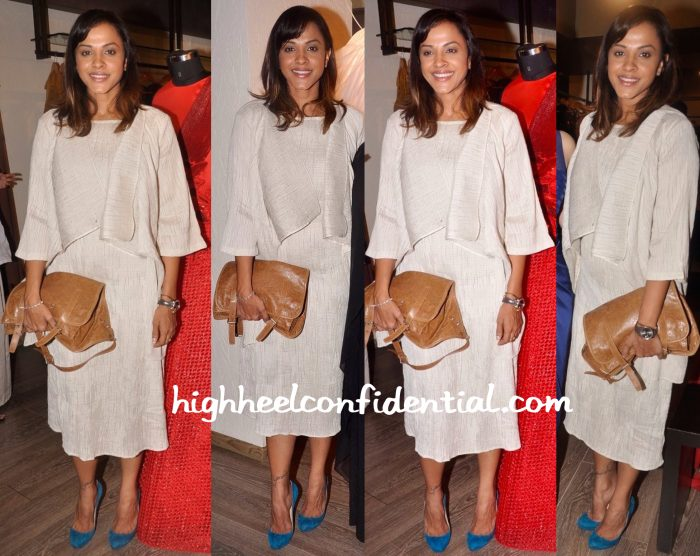 Manasi Scott Wears Akaaro To Amit Aggarwal's Preview At Atosa