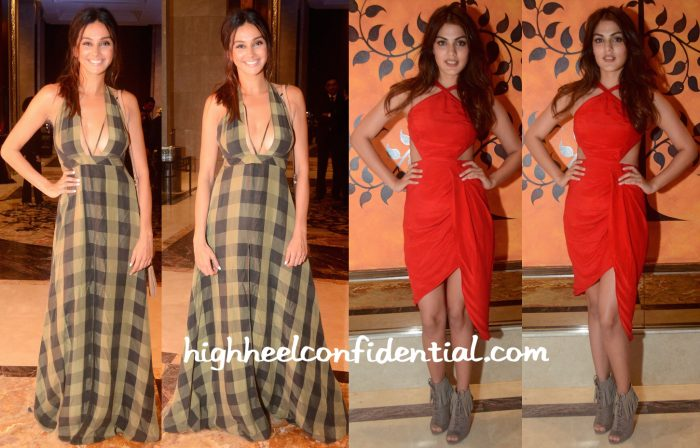 Rhea Chakraborty And Shibani Dandekar In Deme By Gabriella At Chivas 18 Crafted for Gentlemen Event-1