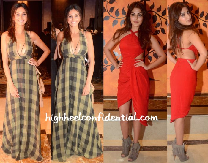 Rhea Chakraborty And Shibani Dandekar In Deme By Gabriella At Chivas 18 Crafted for Gentlemen Event-2