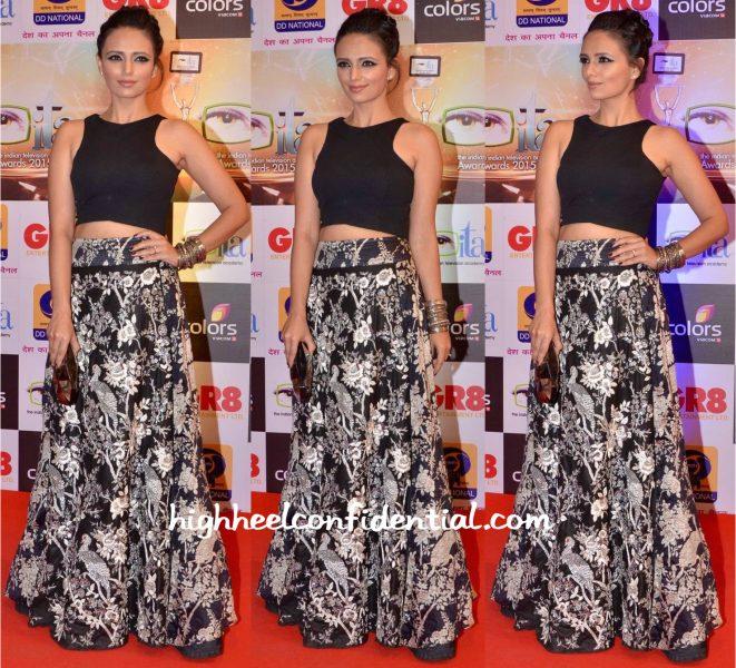 Roshni Chopra In Roshni Chopra Design At Gr8! Women Awards 2015-1