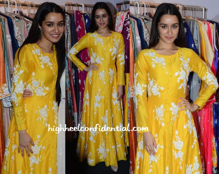 Shraddha Kapoor At IMC Exhibition 2015-1