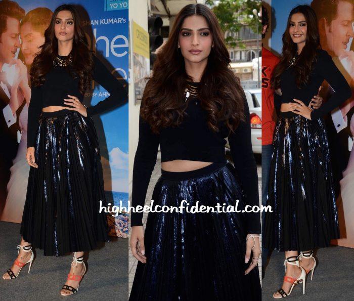 Sonam Kapoor In Proenza Schouler And Aquazzura At Dheere Dheere Song Launch-1